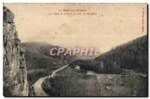 The Valley of the Cure - Bridge Mönthal - Old Postcard