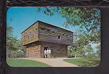 Blockhouse,Muskegon,MI Postcard BIN