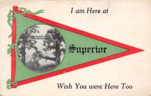 Superior Ohio~St Joseph River~I Am Here~Wish You Were, Too c1913