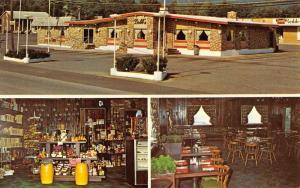 Hallstead Pennsylvania Dobbs Country Kitchen Multiview Vintage Postcard K72191