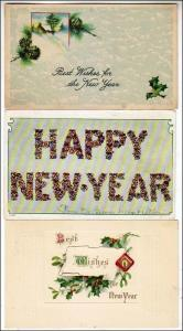 New Years - 3 Cards