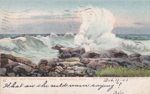 Surf Near Nanepashemet Hotel, MARBLEHEAD, Massachusetts, PU-1905
