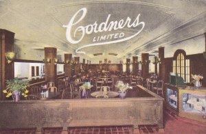 MONTREAL , Quebec , Canada , 00-10s ; Cordners Limited Restaurant , Interior