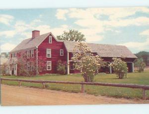 Unused Pre-1980 MUSEUM SCENE Shelburne Vermont VT hs9481