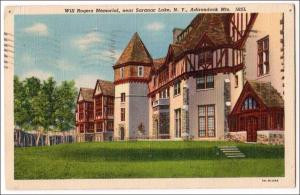 Will Rogers Memorial, Saranac Lake NY