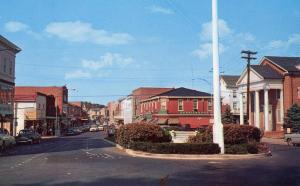 DE - Milford. Walnut Street looking North