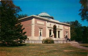 Brunswick, ME, Walker Art Building, Bowdoin College, Vintage Postcard d3364