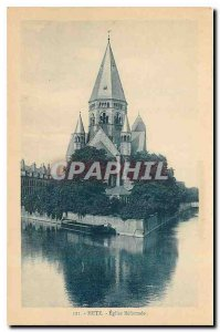 Old Postcard Metz Reformed Church