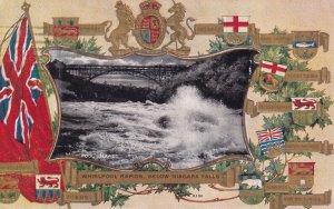 NIAGARA FALLS, Ontario, Canada, PU-1909; Whirlpool Rapids, Canada Providences...