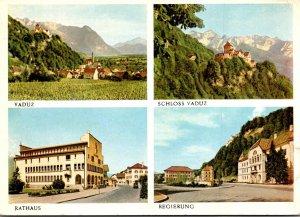 Liechtenstein Gruss Aus vaduz Multi View 1955
