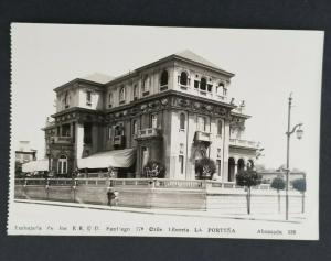 Mint Santiago Chile La Porteña Vintage Real Picture Postcard
