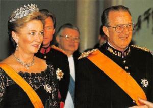 Belgium Le Roi Albert et la Reine Paole, Koning Albert II en Koningin Paola