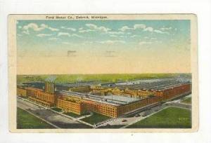 Ford Motor Company,Detroit, Michigan,PU-1920