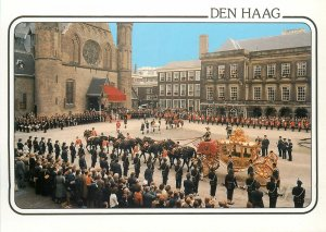 Postcard Netherlands Holland Den Haag ceremony palace