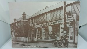 Vintage Reproduction Postcard of Pitsea Post Office Essex circa 1920
