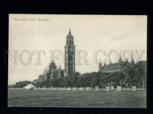 213751 INDIA BOMBAY from Oval Vintage undivided back postcard