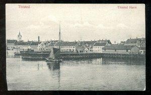 dc574 - THISTED Denmark 1910 Harbor