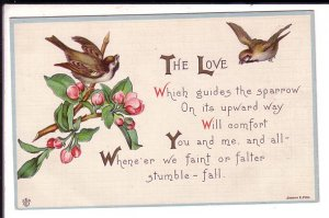 The Love, Spiritual Poem, Sparrows