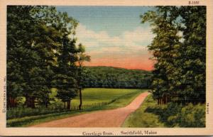 Maine Greetings From Smithfield Curteich