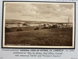 Mint Real Picture Postcard General View Of Foynes Ireland