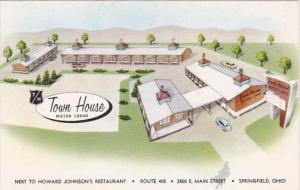 Ohio Springfield Town House Motor Lodge