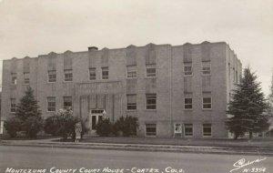 RP: CORTEZ , Colorado , 1940s ; Court House