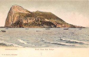 Rock from San Felipe Gibraltar Unused