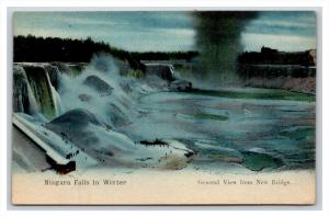 New York  Niagara Falls in WInter