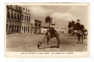 RP ; Sheikh Othman Village, The Mosque of Aldroos, Aden , Yemen, 1910-30s