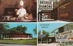 George Diamond Charcoal Broiled Steak Restaurant Chicago Illinois & Acapulco ...
