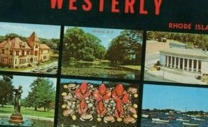 Postcard  This is Westerly,Rhode Island. Multi Views.      S3