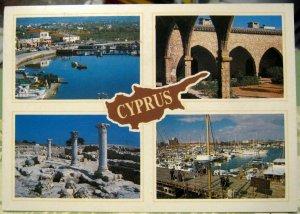 Cyprus Multi-view Ayia Napa Larnaca Curium Paphos - posted 1994