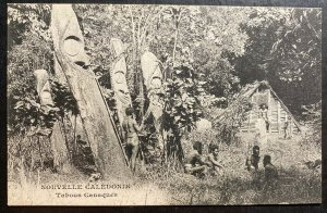 Mint New Caledonia Real Picture Postcard RPPC The taboos Canaques