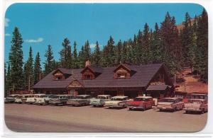 Monarch Crest House Cars Highway US 50 Monarch Pass Colorado 1960s postcard
