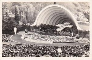 California Easter Sunrise Services At Hollywood Bowl Real Photo