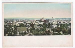 Panorama Omaha Nebraska 1910c Phostint postcard