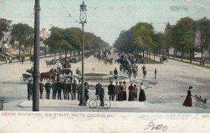 CHICAGO , Illinois , 1907 ; Grand Boulevard