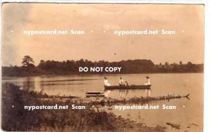 RPPC, Row Boat on Pond, LaFargeville NY
