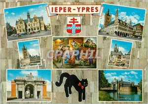A Modern Postcard Hello from Ieper