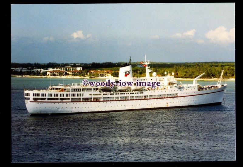 SIM0404 - French Liner , Mermoz , built 1957 ex Jean Mermoz - postcard
