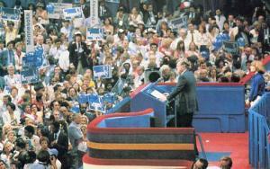 NY - New York City, Senator Edward Kennedy Addresses the Democratic National ...