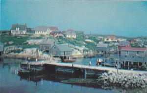 General view,Peggy's Cove,Nova Scotia,Canada,40-60s