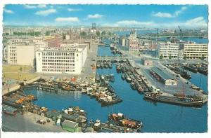 Netherlands, Rotterdam, view of the City, 1965 used Postcard