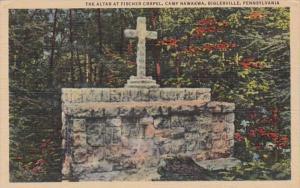 Pennsylvania Biglerville The Altar At Fischer Chapel Camp Nawakwa