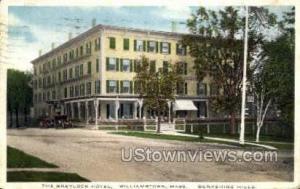 The Greylock Hotel Williamstown MA 1913