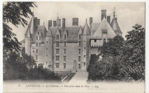 France; Langeais, The Castle Seen From The Park PPC Levy, LL 9, Unused