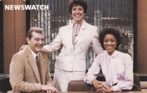 MONTREAL, Quebec, Canada; Three News Reporters, Newswatch, PU-1984