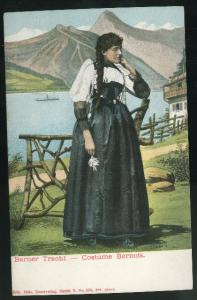 Swiss Costume Bernois Bernese Dress Berner Tracht UND Switz