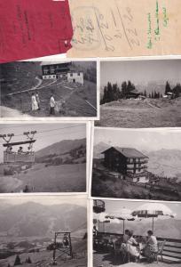 Kitzbuhel Hahnenkamm Austria 2x Hotel Receipt & Photo s