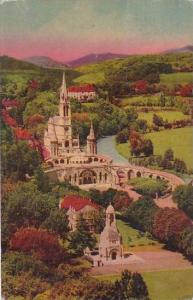 France Lourdes Monument Interallie 1952